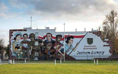 Jestem dumny – ożywienie muralu
