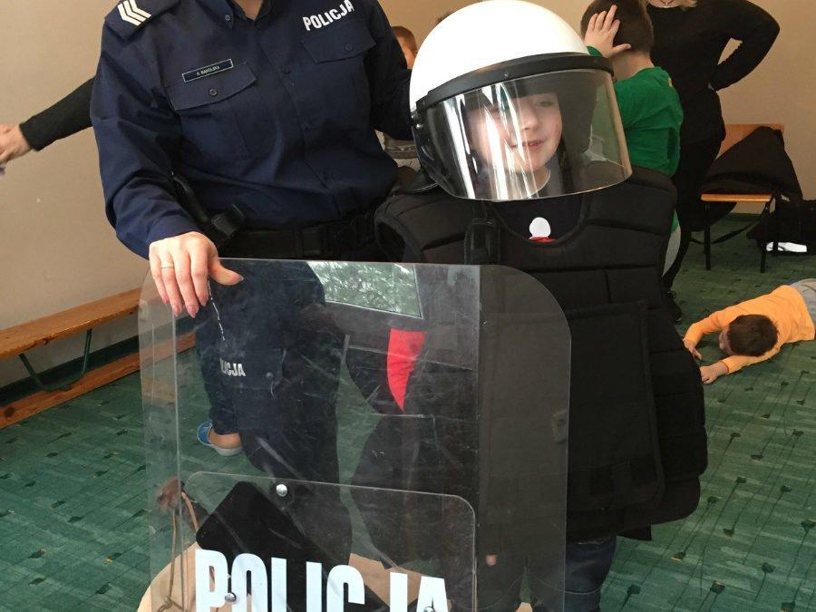 Policja wprzedszkolu