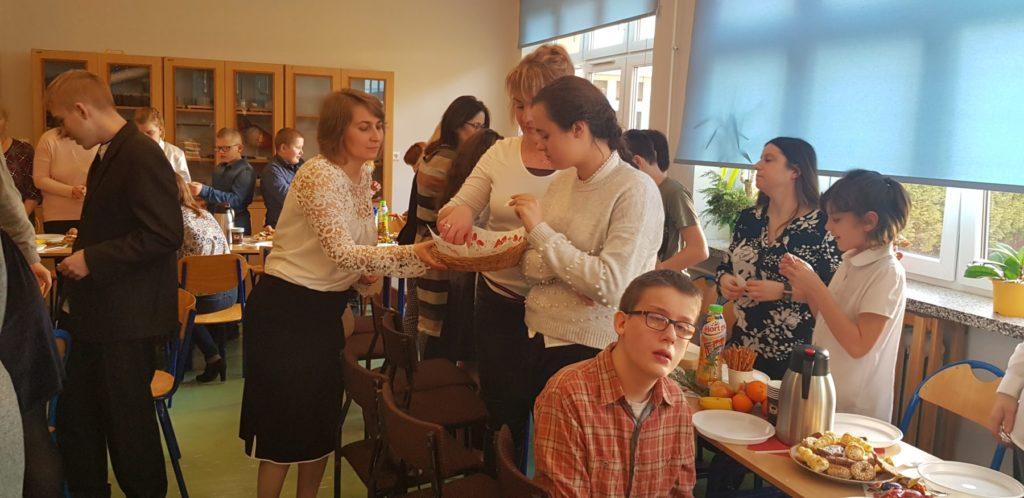 Spotkanie opłatkowe wSzkole Podstawowej