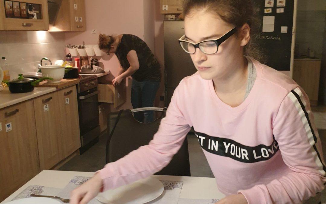 Mieszkanie treningowe – turnus żeńskiej drużyny