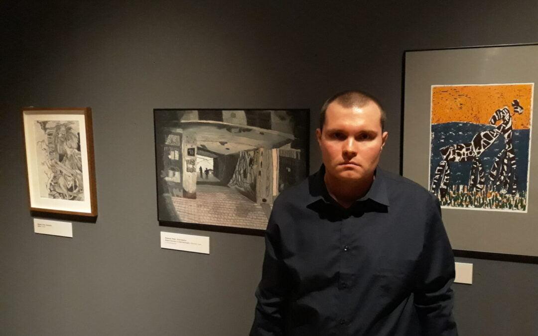 Galeria 105 naXVI Międzynarodowym Biennale Sztuk Plastycznych Osób Niepełnosprawnych