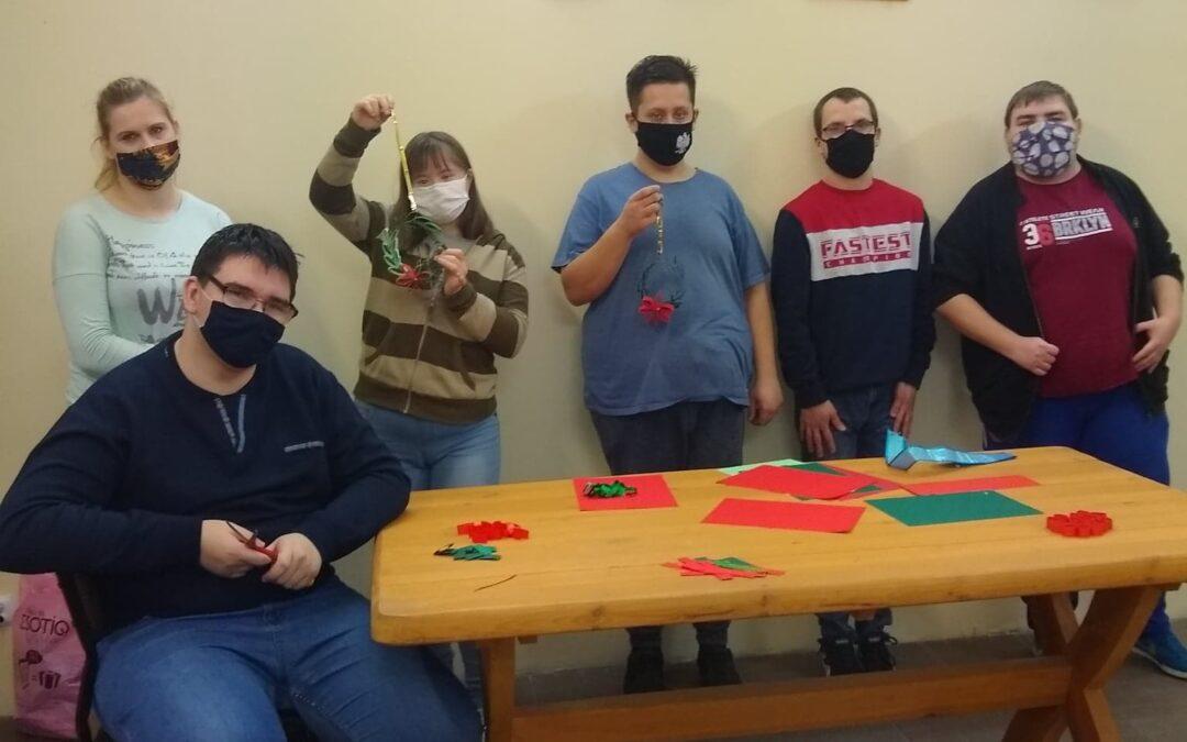 Warsztaty bożonarodzeniowe dla uczniów Szkoły Przysposabiającej doPracy